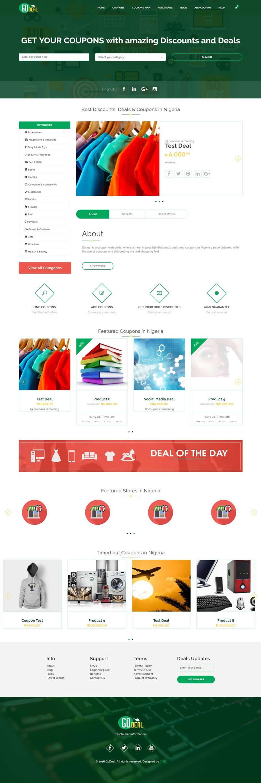 Godeal website design contemporary media solutions for Best discount designer websites